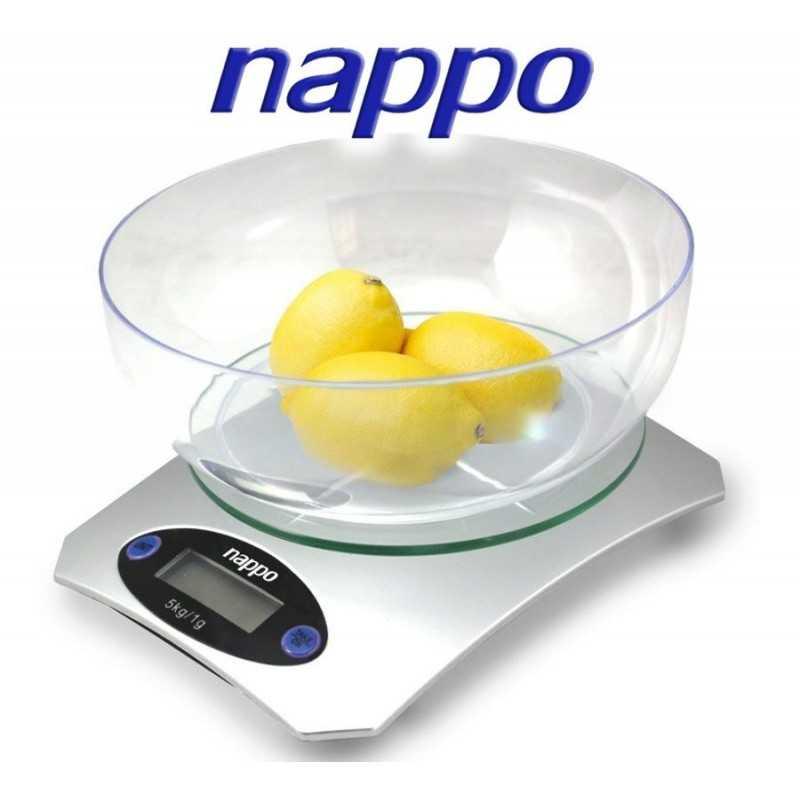 Balanza de cocina con Bowl Incluído - Nappo - BAL-05