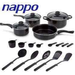Kit de ollas de 20 piezas - Nappo