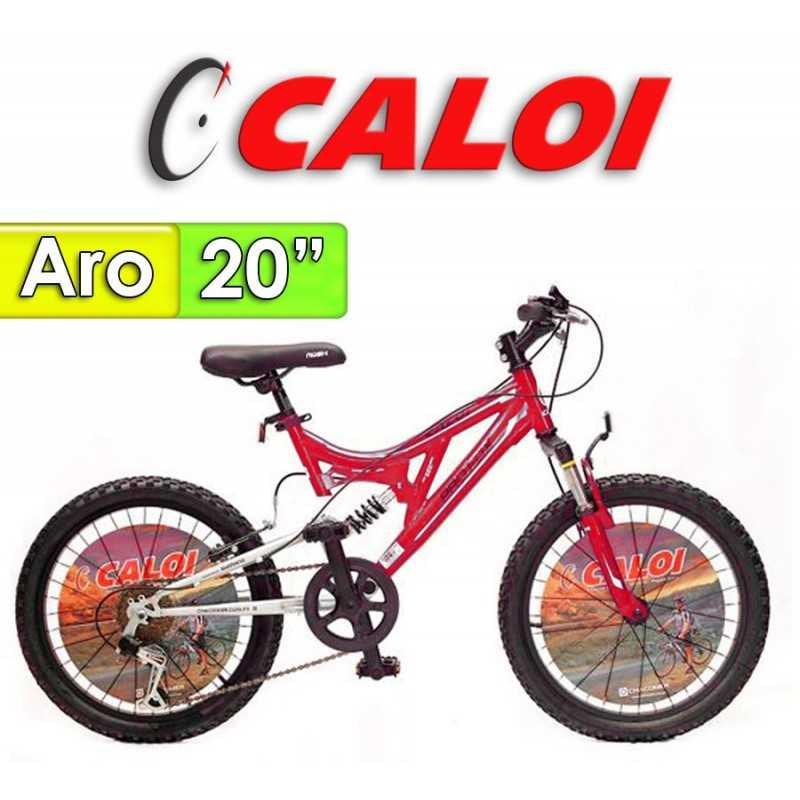 """Bici Aro 20"""" Profox 20 - Caloi - Rojo"""
