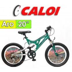 """Bici Aro 20"""" Profox 20 - Caloi - Verde"""