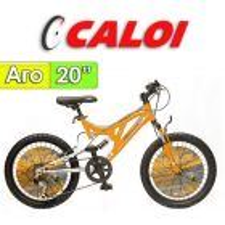 """Bici Aro 20"""" Profox 20 - Caloi - Naranja"""