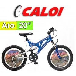 """Bici Aro 20"""" Profox 20 - Caloi - Azul"""