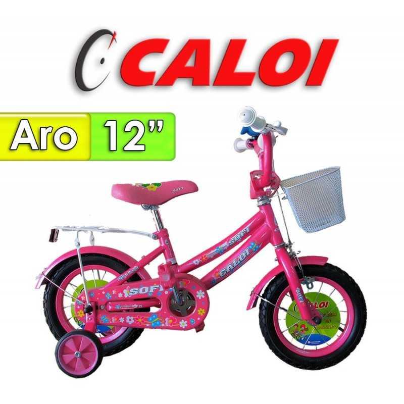 "Bici Aro 12"" Sofi - Caloi - Fucsia"