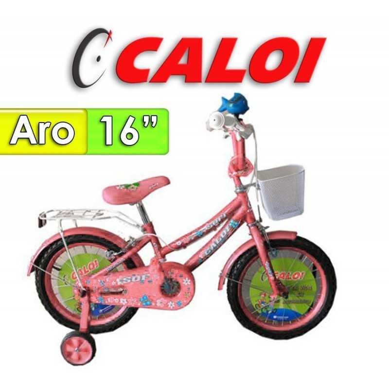 "Bici Aro 16"" Sofi - Caloi - Rosada"