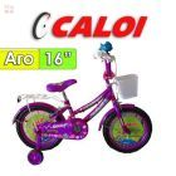 "Bici Aro 16"" Sofi - Caloi - Lila"