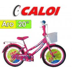"Bici Aro 20"" Sofi - Caloi - Fucsia"