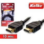 Cable HDMI de 10 Mtrs para Audio y Video - Kolke