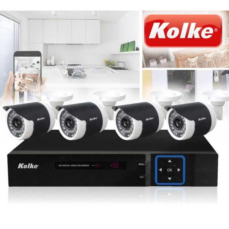 Kit de Camaras de Seguridad - Kolke - KUK-013