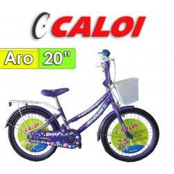 "Bici Aro 20"" Sofi - Caloi - Lila"