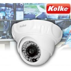 Cámara de Seguridad Domo Resolución 2.0 MP Full HD 1080 - Kolke - KUC-078