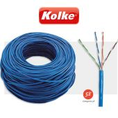 Cable UTP Kolke CAT 5E Rollo de 305mts - Kolke - CAT-5E