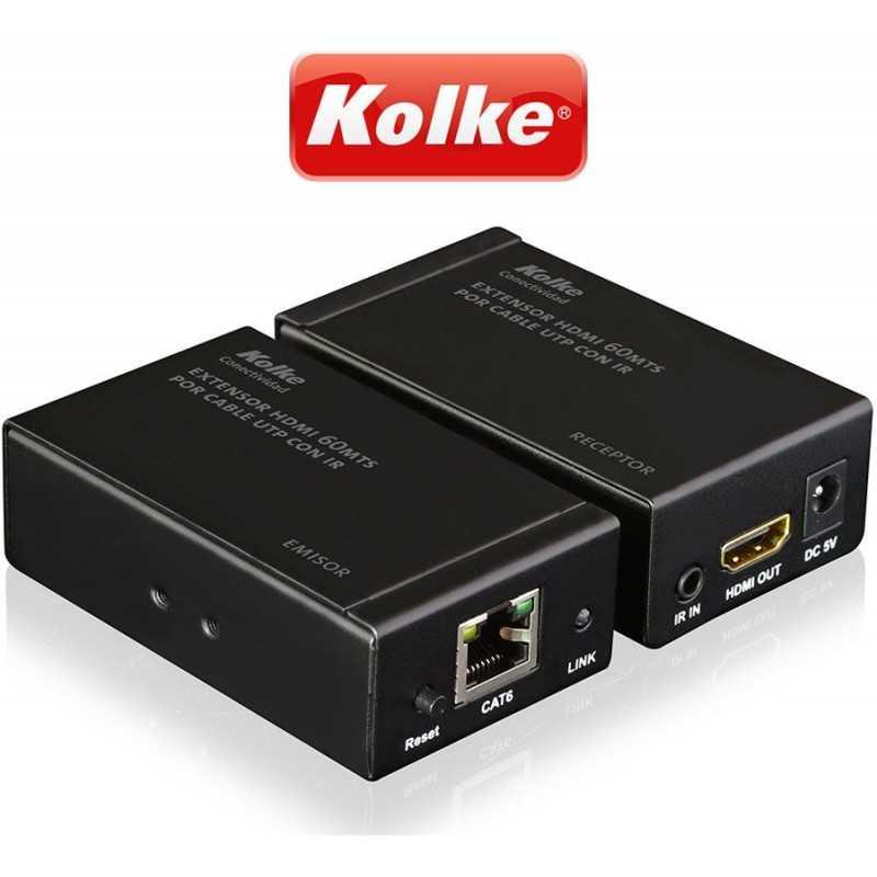 Extensor HDMI 60 Mtrs - Kolke - KCC-179