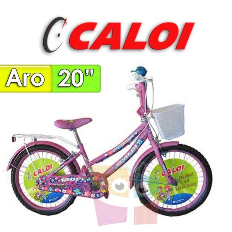 "Bici Aro 20"" Sofi - Caloi - Rosa"