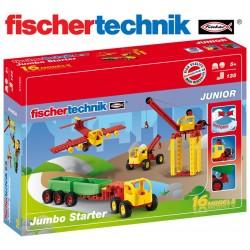 Juego Educativo de Construcción Universal - Fischertechnik - Jumbo Starter