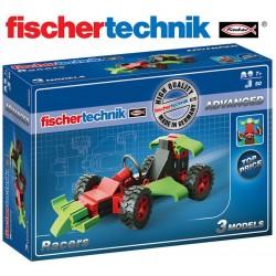 Juego Educativo de Construcción de Autos de Carrera - Fischertechnik - Advanced Racers