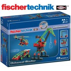 Juego Educativo de Construcción Universal - Fischertechnik - Advanced Universal Starter