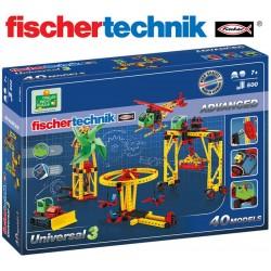 Juego Educativo de Construcción Universal - Fischertechnik - Advanced Universal 3
