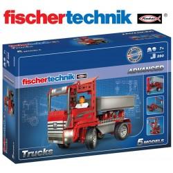 Juego Educativo de Construcción de Camiones - Fischertechnik - Advanced Trucks