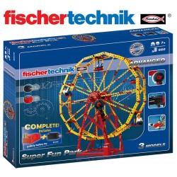 Juego Educativo de Construcción de Parques de Diversiones - Fischertechnik - Advanced Super Fun Park