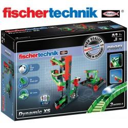 Juego Educativo de Construcción de circuitos de canicas - Fischertechnik - Dynamic XS
