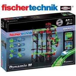Juego Educativo de Construcción de circuitos de canicas - Fischertechnik - Dynamic M