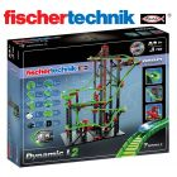 Juego Educativo de Construcción de circuitos de canicas - Fischertechnik - Dynamic L2