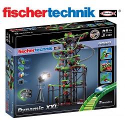 Juego Educativo de Construcción de circuitos de canicas - Fischertechnik - Dynamic XXL