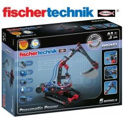 Juego Educativo de Construcción de Energía Neumática - Fischertechnik - Profi Pneumatic Power