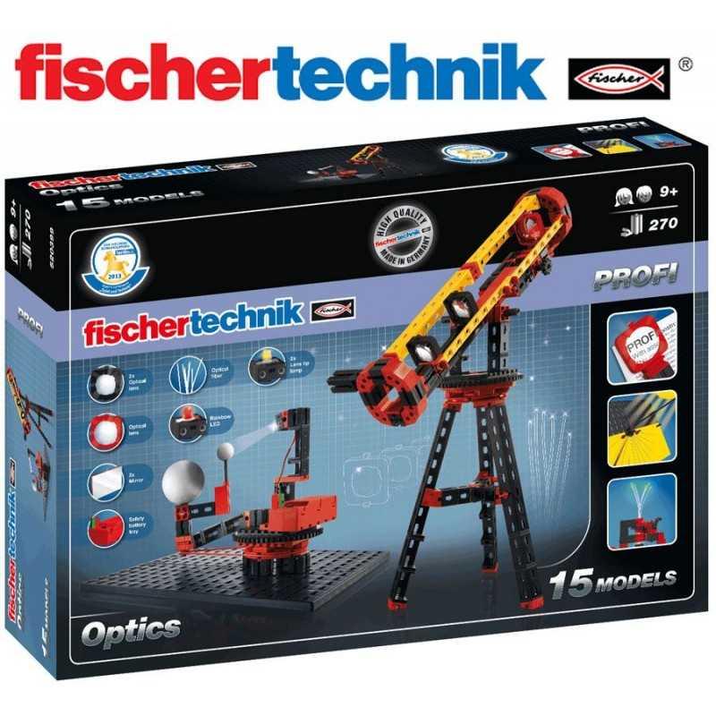 Juego Educativo de Construcción de Telescopio, Microscopio, Periscopio - Fischertechnik - Profi Optics