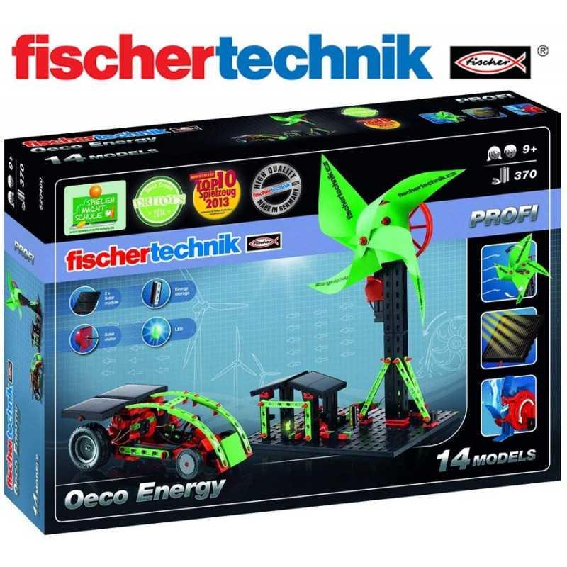 Juego Educativo de Construcción con Energías Renovables - Fischertechnik - Eco Energy