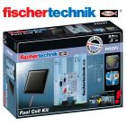 Juego Educativo de Construcción con Kit de complemento e Célula Electrolítica y de combustible - Fischertechnik - Fuel Cell Kit
