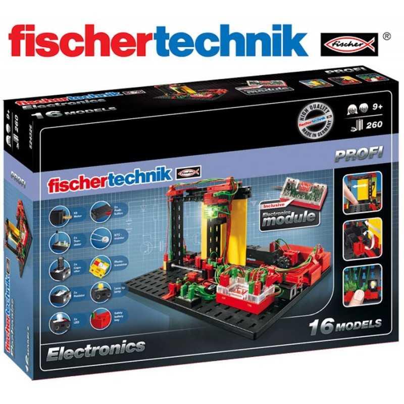 Juego Educativo de Construcción de Circuitos Electronicos  - Fischertechnik - Profi Electronics