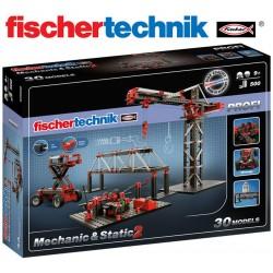 Juego Educativo de Construcción Universal - Fischertechnik - Profi Mechanic + Static 2