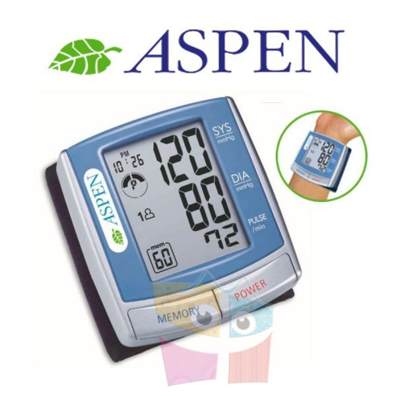 Tensiómetro digital de muñeca para toma de presión - Aspen - BI701