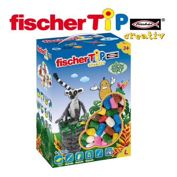 Juego Educativo de Manualidades de 600 Tips - Fischer Tip - TiP Box L