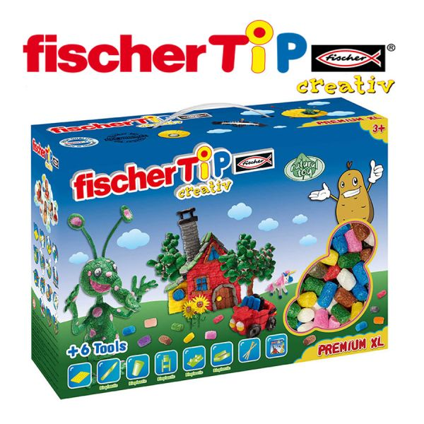 Juego Educativo de Manualidades de 1000 Tips - Fischer Tip - TiP Box XL