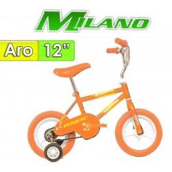 "Bici Aro 12"" Bambino - Milano - Naranja"