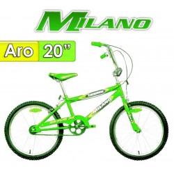 """Bici Aro 20"""" Champione - Milano - Verde Fluor"""