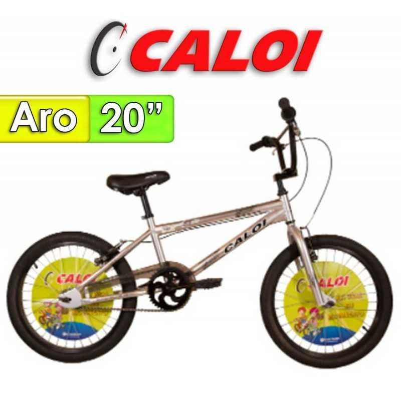 "Bici Aro 20"" Pro - Caloi - Gris"