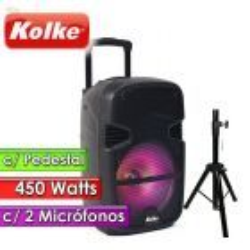 """Parlante con Pedestal - Kolke - SONIC 15"""" KPB-157 - 450 W con Pedestal"""