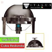 Buffetera Individual Inoxidable - Italux - BP10TBI
