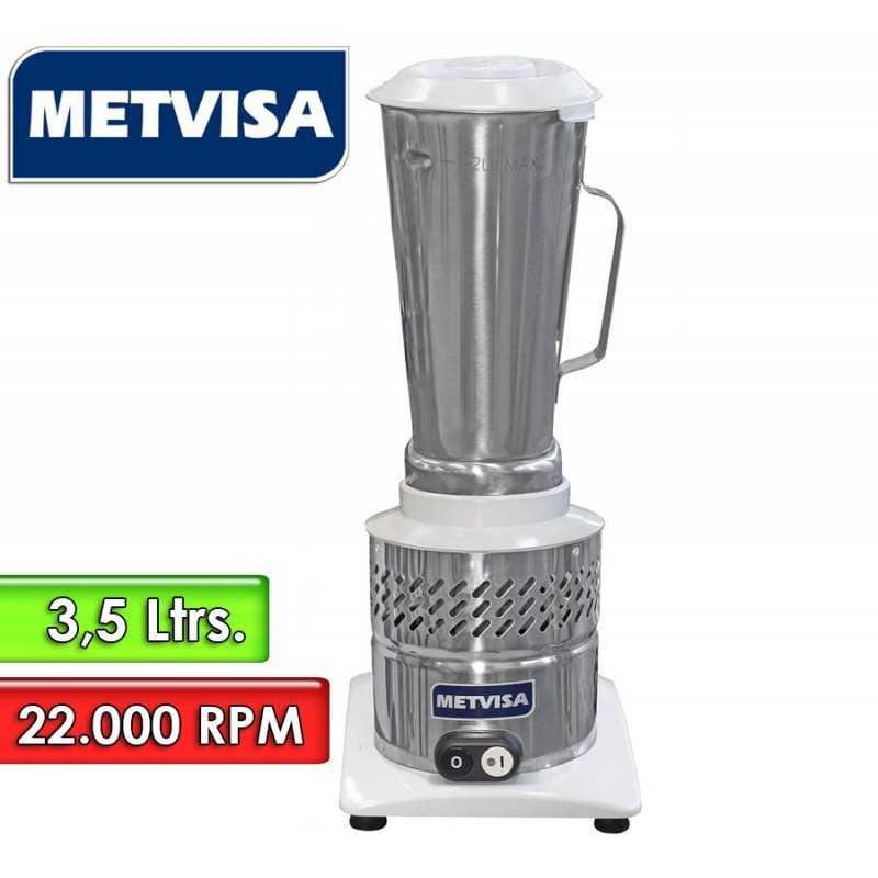 Licuadora Inoxidable de Alta Rotación de 3,5 Litros - Metvisa - LAR 4