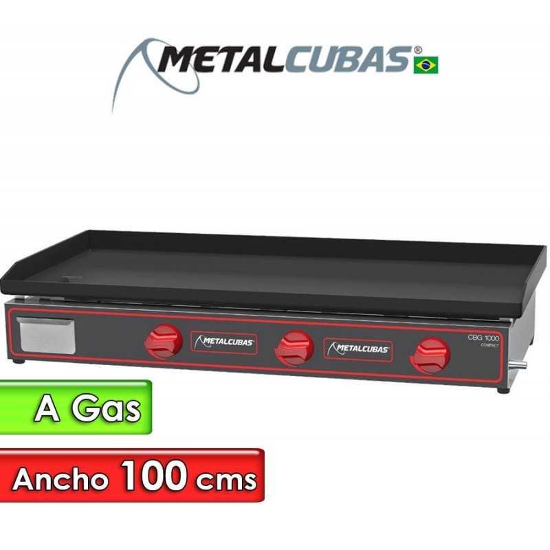 Plancha Churrasquera a Gas de 100 Cms. - Metalcubas - CBG-1000C