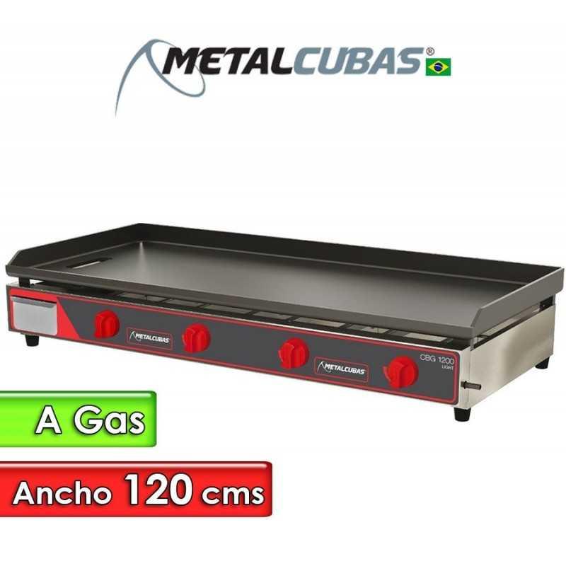Plancha Churrasquera a Gas de 120 Cms. - Metalcubas - CBG-1200C