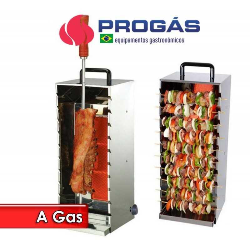 Asador a Gas de Acero Inoxidable - Progas - PR-199