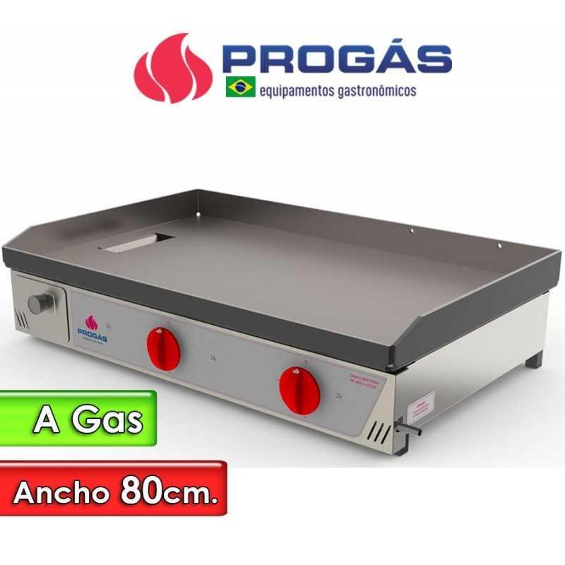 Plancha Churrasquera a Gas de 80 Cms. - Progas - PR-800 G