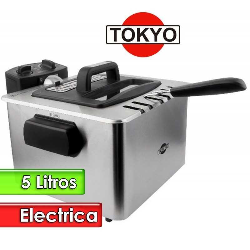Freidora Electrica de 5 Litros Tacho Rectangular - Tokyo - FREI5