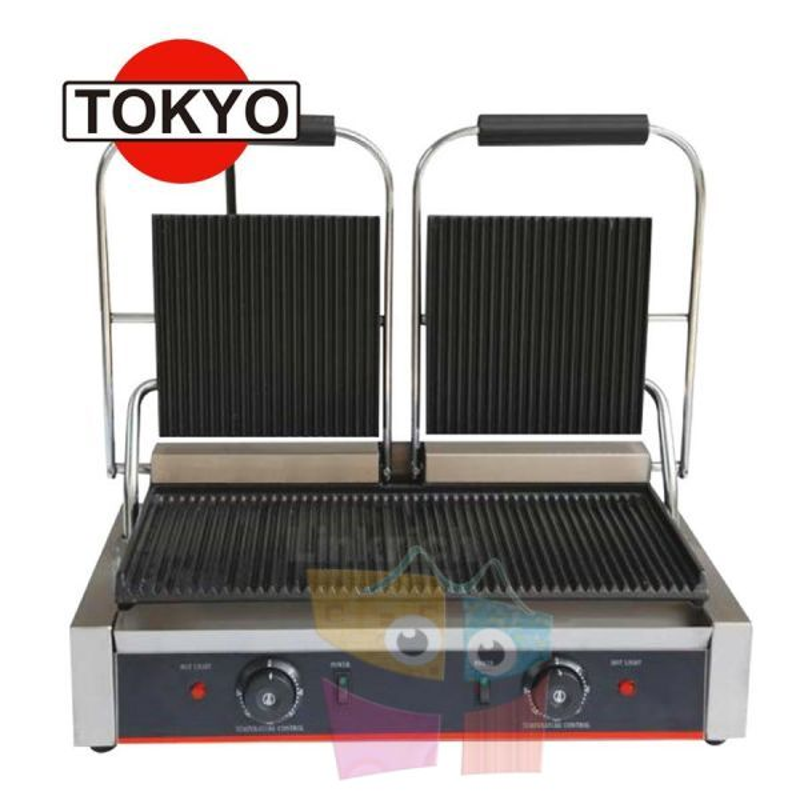 Plancha Doble Grill Industrial - Tokyo - LR-813