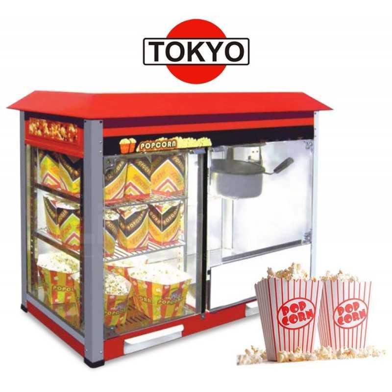Máquina de Pororó Comercial de Gran Capacidad con Deposito - Tokyo - LR-PM8-898