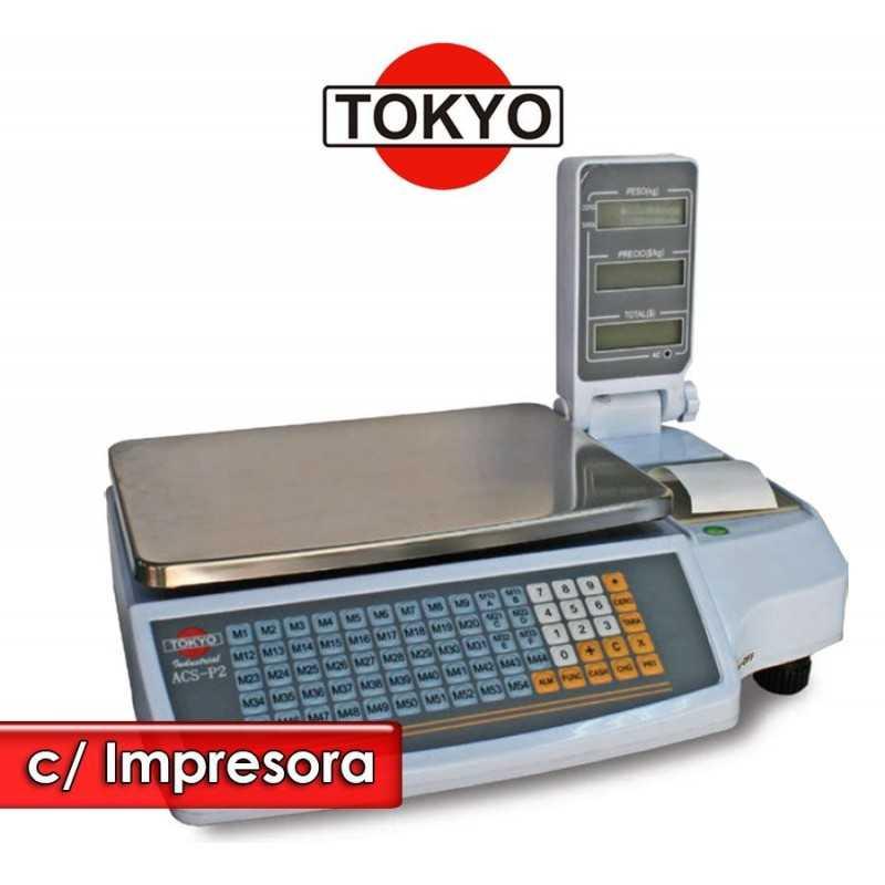 Balanza Comercial con Impresora de Tickets - Tokyo - ACS-P2